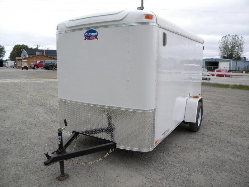 2017 United Trailers ULH-612SA30-S Enclosed Cargo Trailer