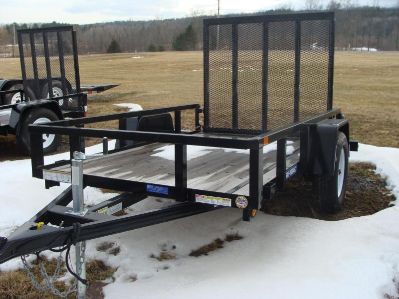 2015 Sure-Trac SURE TRAC 5X8 TUBE TOP UTILITY Utility Trailer