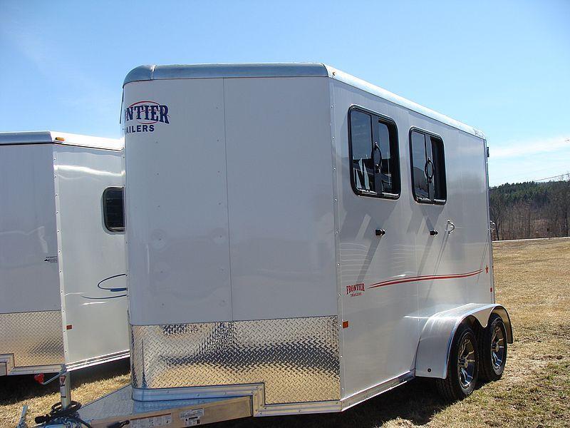 2016 Frontier STRIDER 2 Horse Slant Load BP