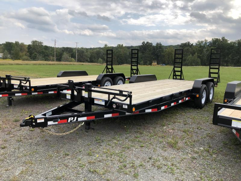 2020 PJ Trailers 20' Car Hauler Car / Racing Trailer
