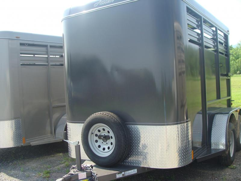 2018 Adam overnighter Livestock Trailer
