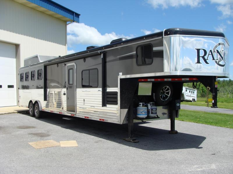 2018 Bison Trailers 8414 RANGER Horse Trailer