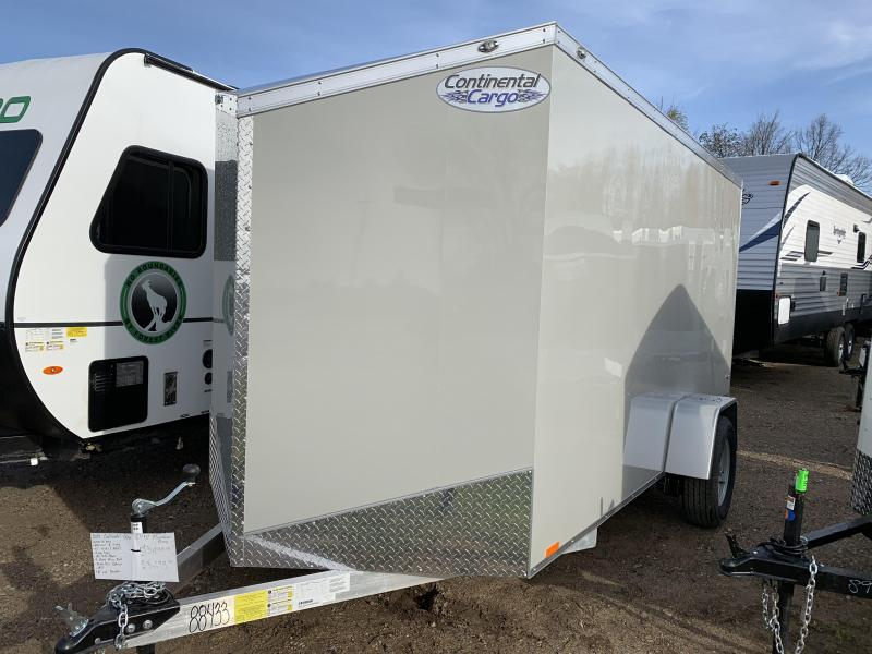 2019 Continental Cargo 6x12 aluminum Enclosed Cargo Trailer