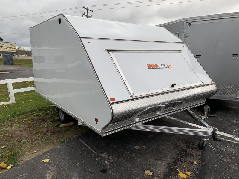 2019 Snopro 101X12 HYBRID Snowmobile Trailer