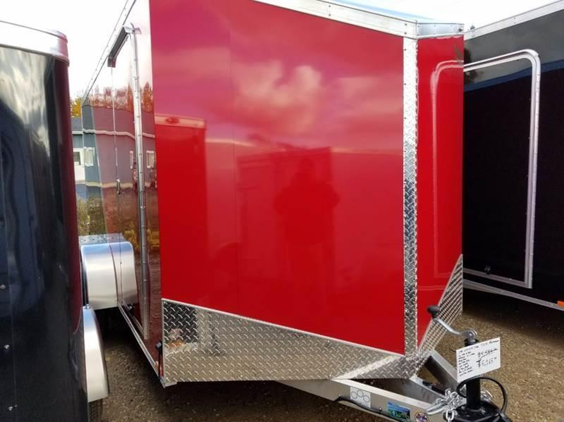 2018 Continental Cargo 7 X 14 Aluminum Enclosed Cargo Trailer