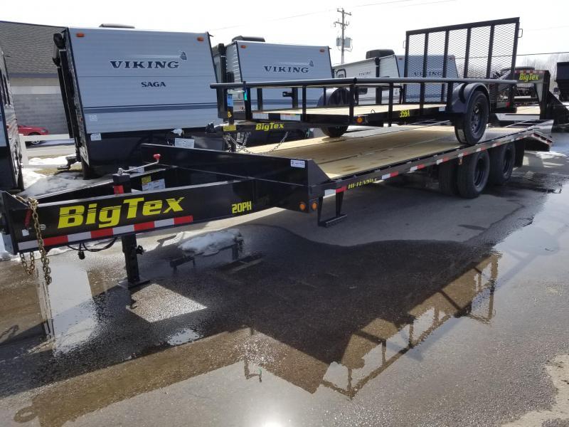 2018 Big Tex Trailers 20PH 25' Equipment Trailer