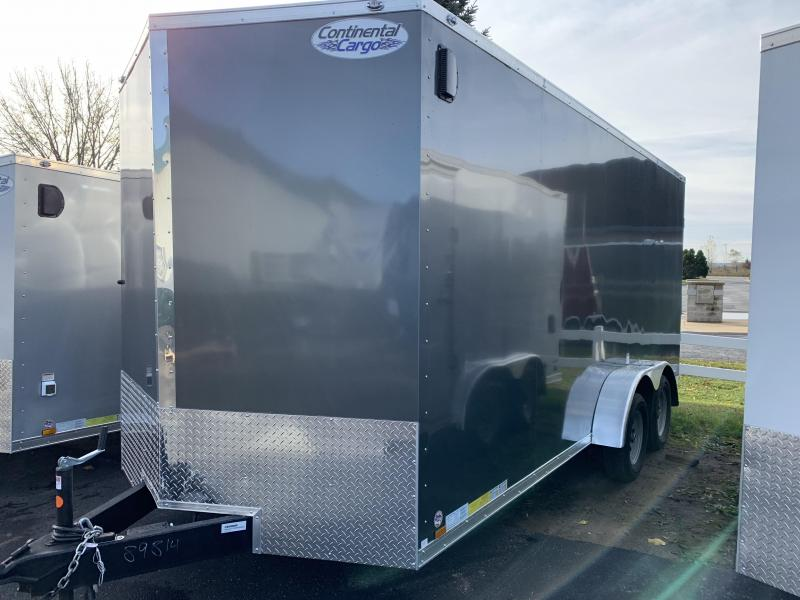 2019 Continental Cargo 7x18 utv Enclosed Cargo Trailer
