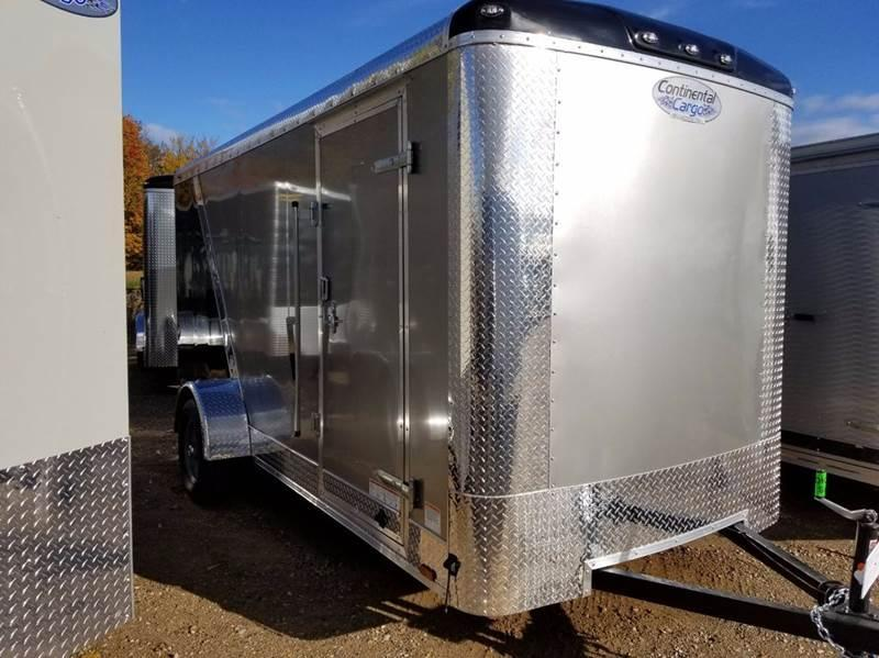 2018 Continental Cargo 6 X 14 Enclosed Cargo Trailer