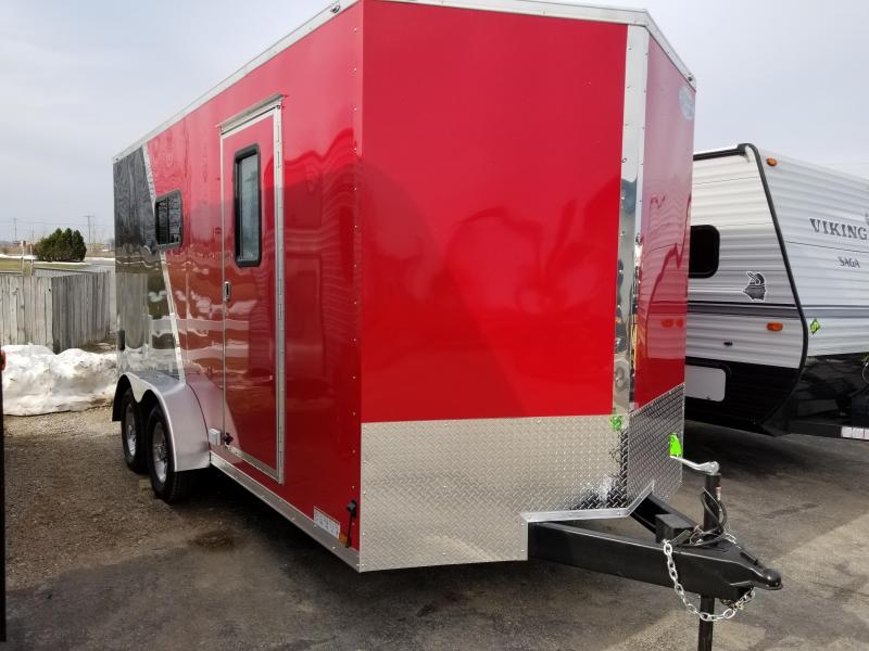 2019 Continental Cargo 7X16 UTV Enclosed Cargo Trailer