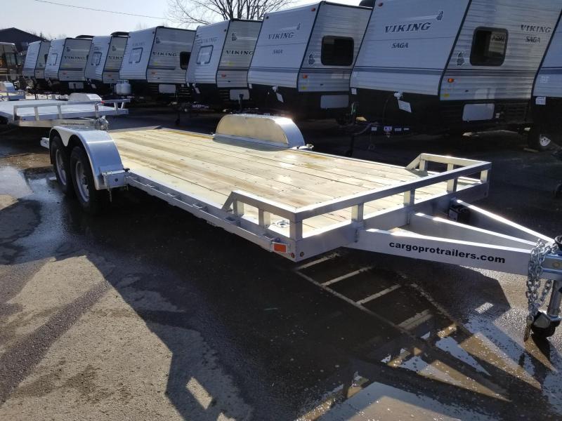 2018 CargoPro Trailers 7X20 ALUMINUM Equipment Trailer