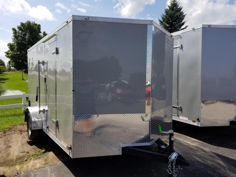 2019 Continental Cargo 7X12 Enclosed Cargo Trailer