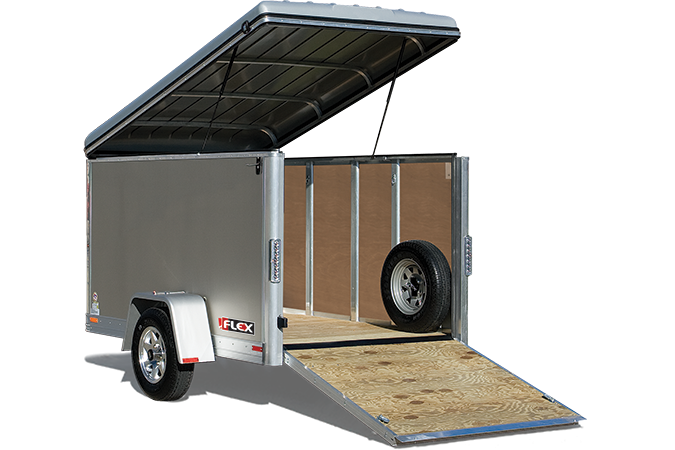 2018 Haulmark FL5X8DS1 Enclosed Cargo Trailer