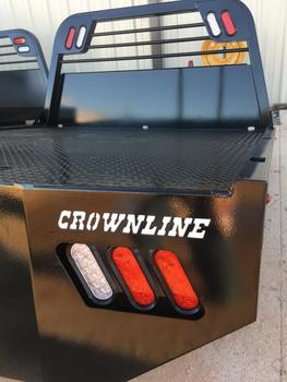 Crownline WorkBed Single Rear Wheel