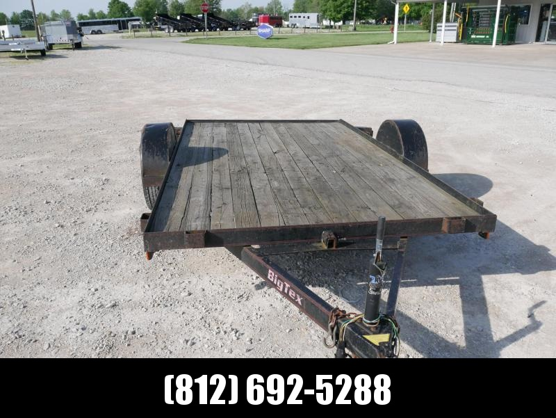2000 Big Tex Trailers 80X12 Utility Trailer