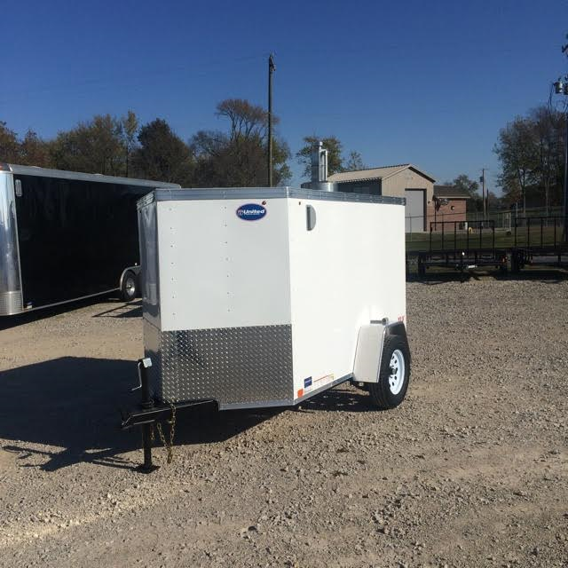 2019 United Trailers XLV 5X8SA30 Enclosed Cargo Trailer