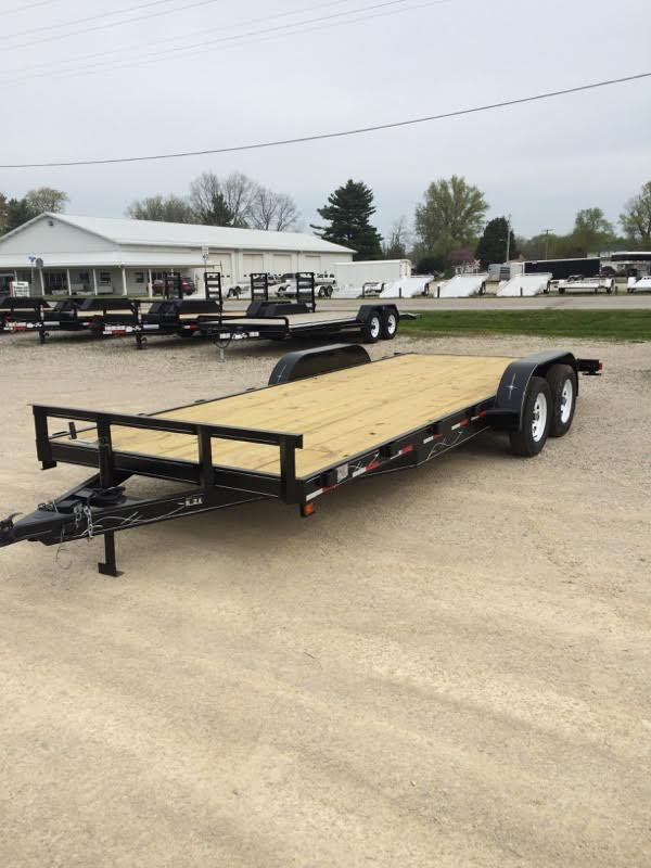 2018 Wesco UT 20 Utility Trailer