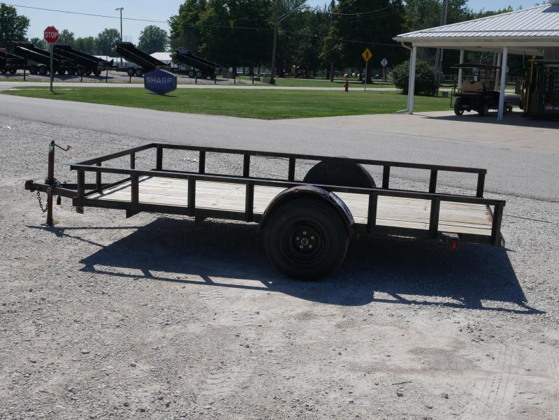 1991 Other HULLCO 12 FT UTILITY Utility Trailer