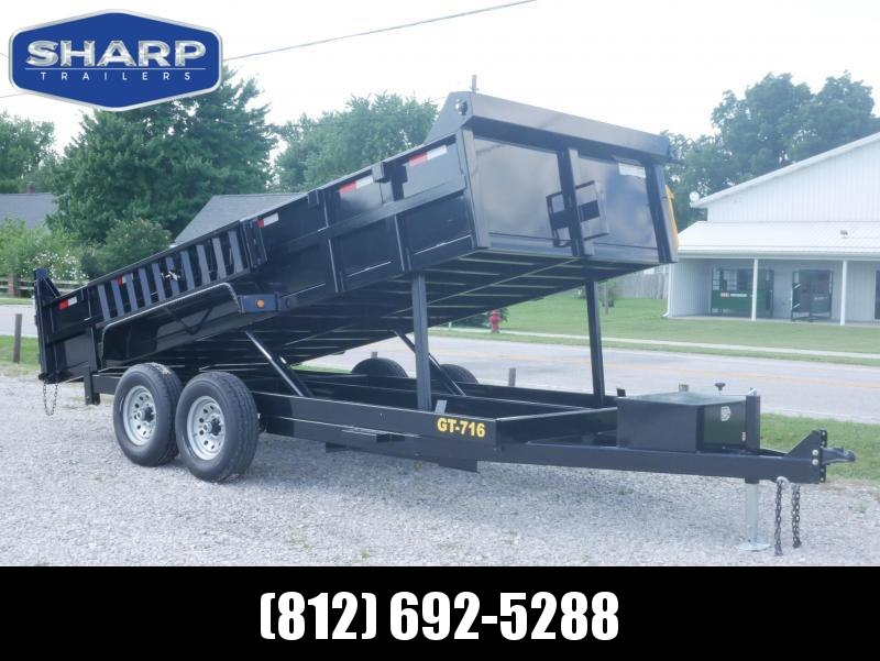2019 Griffin LMD8316 Dump Trailer