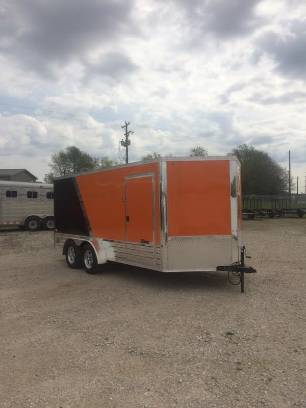 2017 United Trailers XLMTV Enclosed Cargo Trailer