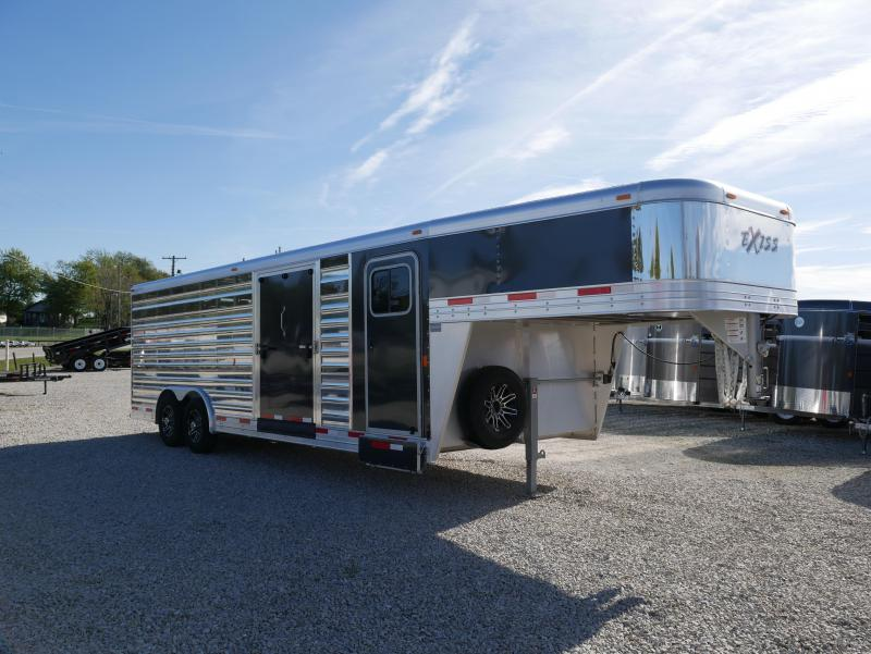 2018 Exiss Trailers STC 8024 Livestock Trailer
