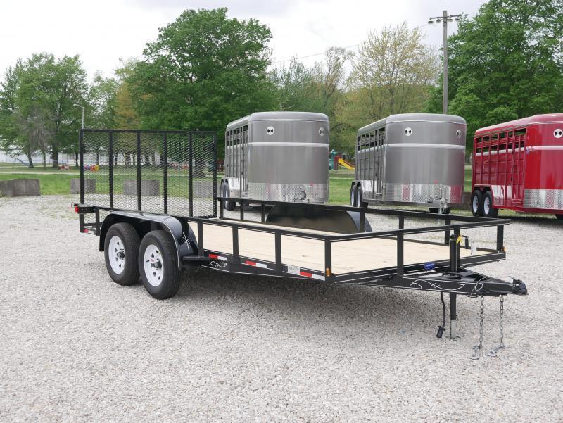 2018 Wesco UT 16 Utility Trailer