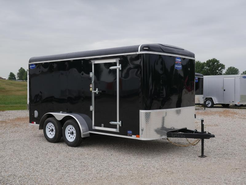 2019 United Trailers ULH 7X14TA35 Enclosed Cargo Trailer