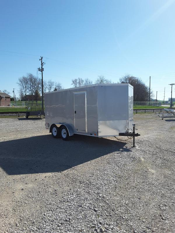 2018 United Trailers XLV 7X14TA35-S Enclosed Cargo Trailer
