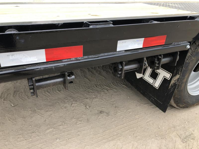 Load Trail 40 Low Profile Deckover 22K Gooseneck Equipment Flatbed Trailer