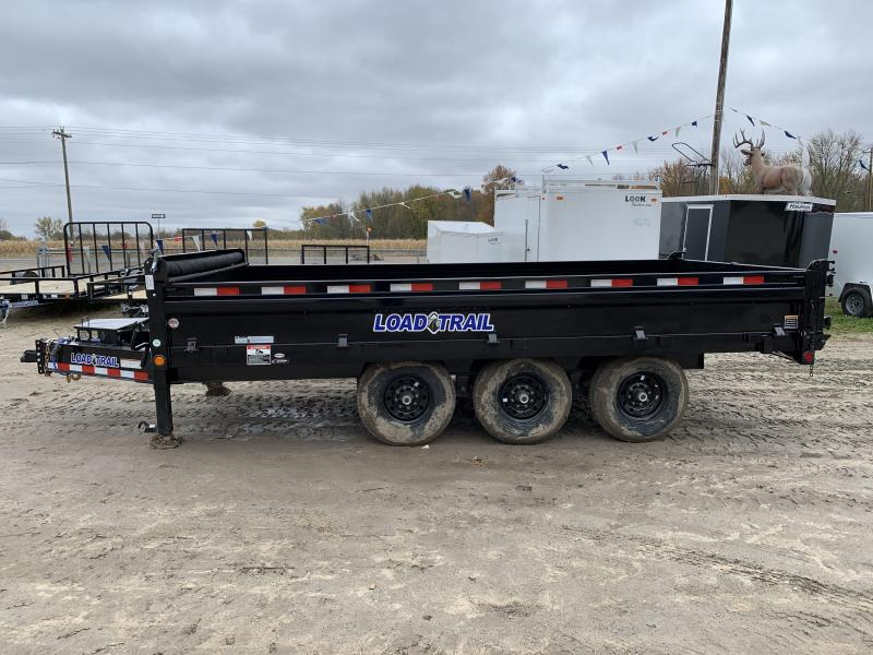 Load Trail 96x16 21K Dump Trailer
