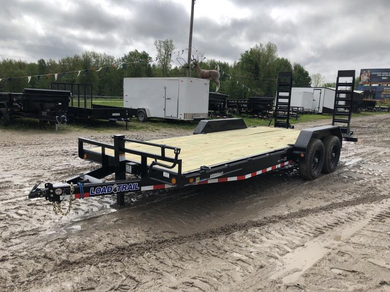 Load Trail 20ft 14K Equipment Trailer W/Rub Rail