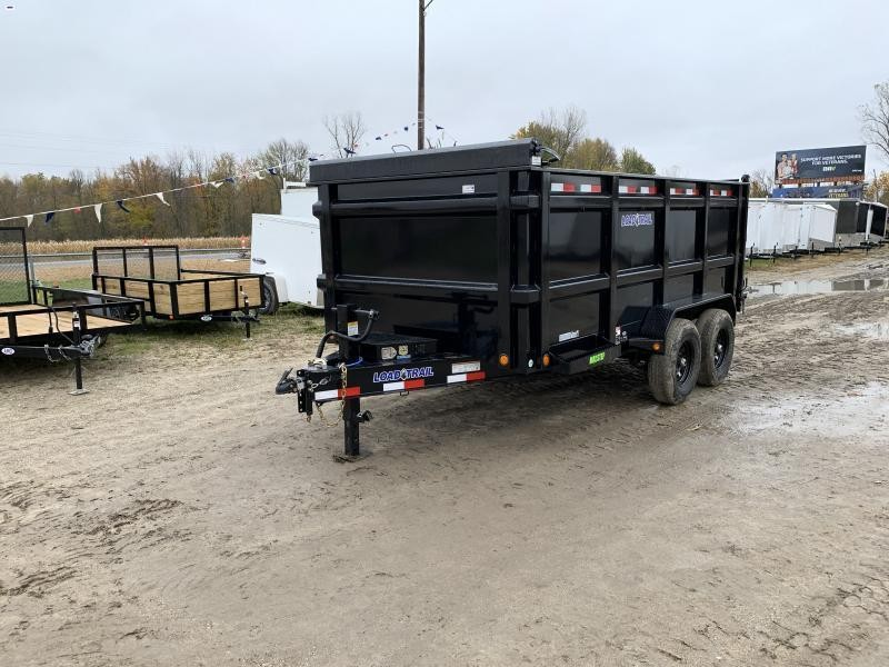Load Trail 83x14 14K  Dump Trailer W/4ft Sides