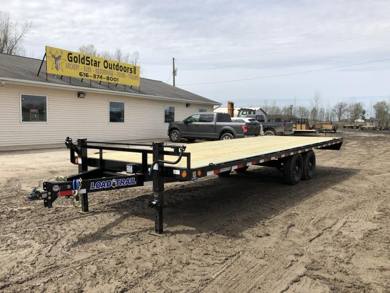 Load Trail DK14 Deck Over 14000 Lb w/6″ Channel Equipment Trailer