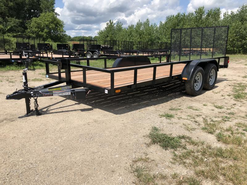 Force 6.5x16TA Utility Trailer