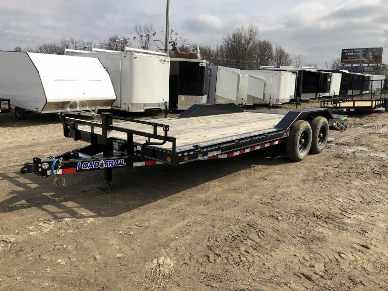 Load Trail 102x20 14K Equipment Trailer W/ Drive Over Fenders & Max Ramps
