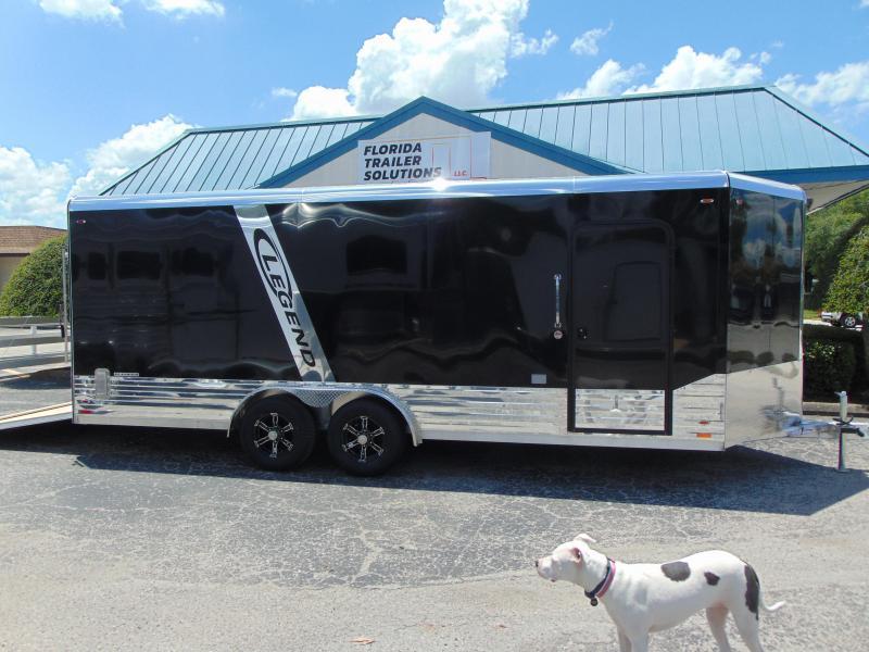 2019 Legend Manufacturing 8X23 All Aluminum Enclosed Cargo Trailer