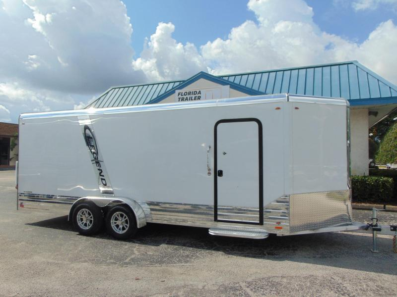 2019 Legend Manufacturing 7X23 Deluxe V-Nose All Aluminum Enclosed Cargo Trailer