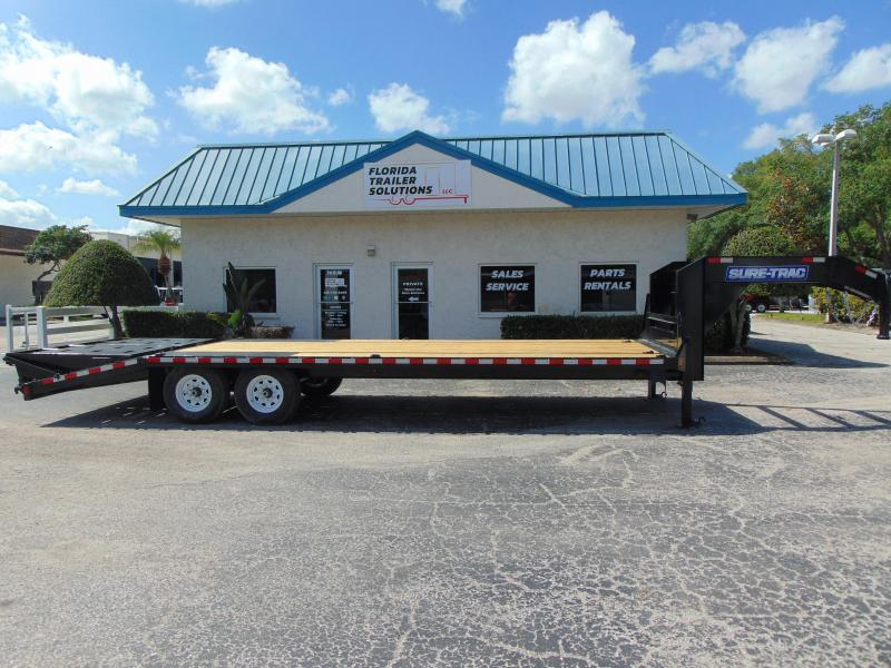 2019 Sure-Trac 8.5X20 Plus 5 Gooseneck Equipment Trailer