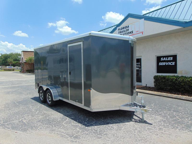 2019 NEO Trailers 7X16 Aluminum Enclosed Cargo Trailer
