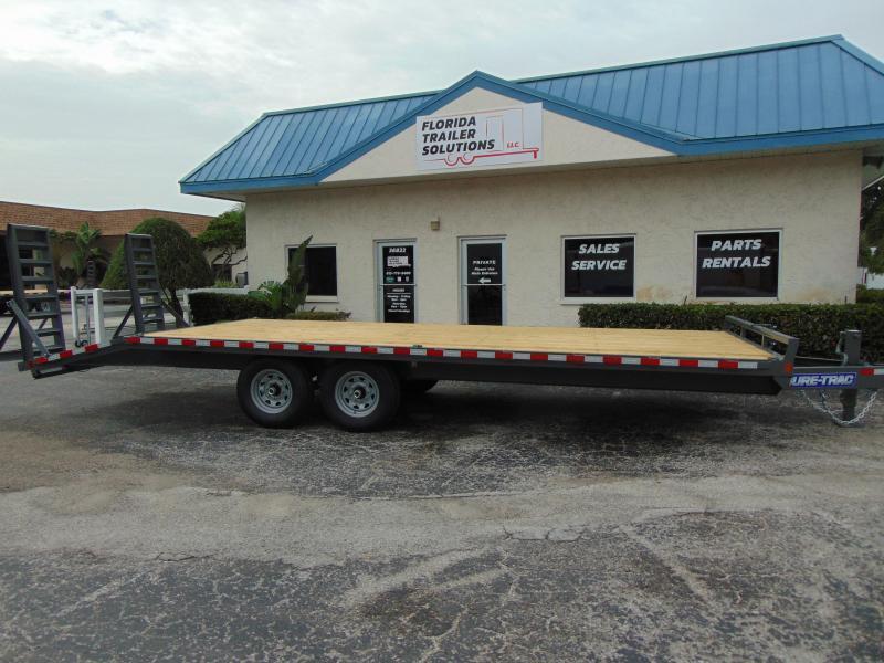 2019 Sure-Trac 8.5X18+4 15k Deckover Equipment Trailer