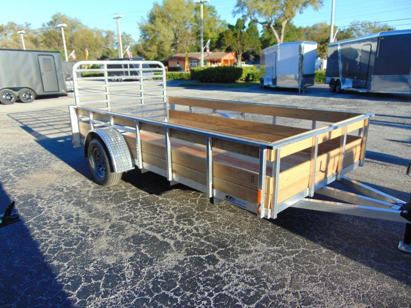 2019 Legend Manufacturing 6X10 Aluminum High Side Utility Trailer