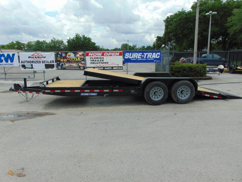 2019 Sure-Trac 7X18+4 Tilt Bed 14K Equipment Trailer