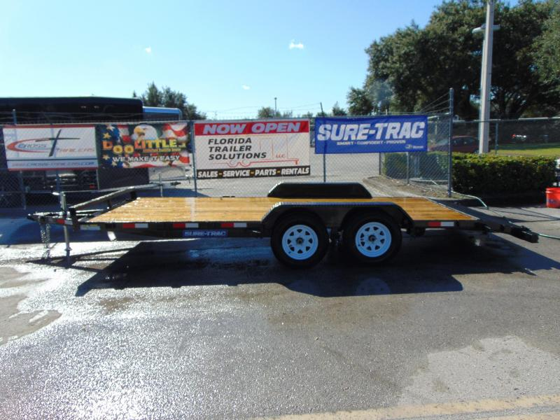 2019 Sure-Trac 7X18 Wood Deck Car Hauler