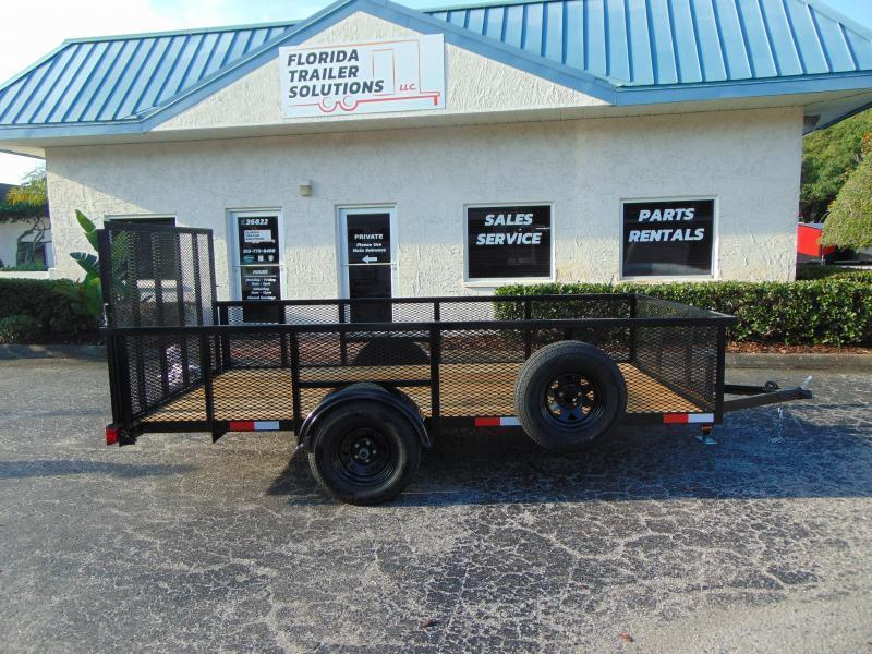 New Worldwide Trailer 6X12 Utility Trailer w/2' Mesh Sides