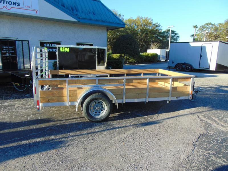 2019 Legend Manufacturing 6X12 Aluminum High Side Utility Trailer