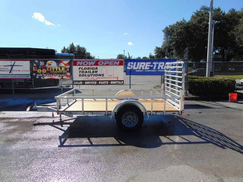 2019 Legend Trailers 6X10 All Aluminum Utility Trailer