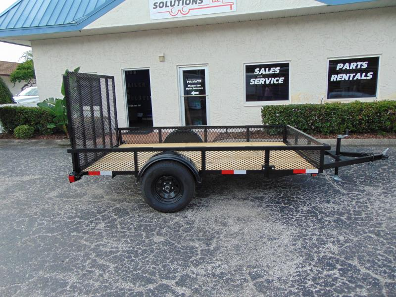 New Worldwide Trailer 6X10 Utility Trailer w/1' Mesh Sides