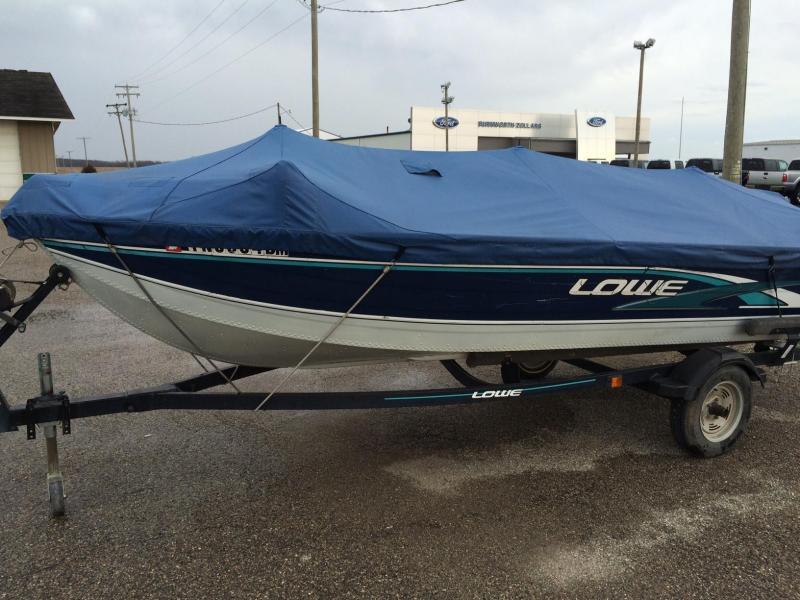 1997 Lowe 1605 Fishing Boat