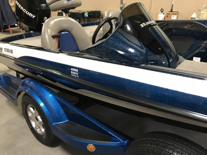 2007 Ranger 178VS Bass Boat