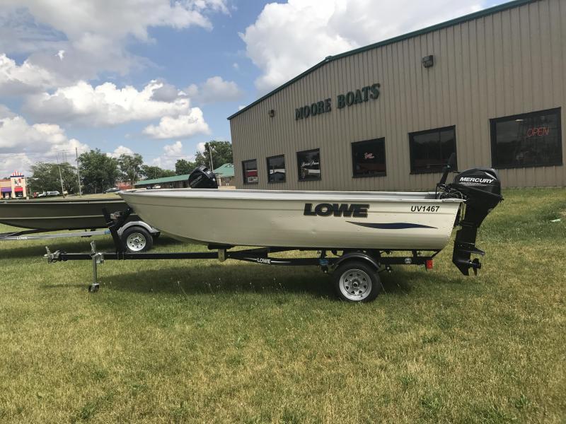 2016 Lowe 1467WT Fishing Boat
