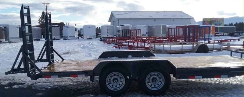 2018 Lamar Trailers CC831825 Equipment Trailer